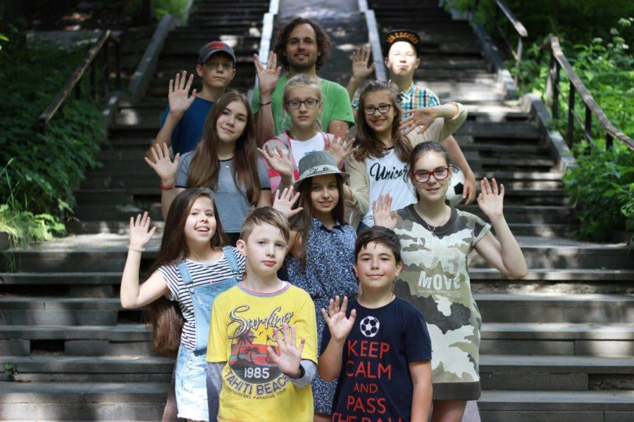 Участники разговорного клуба для подростков 11-17 лет в петрозаводске