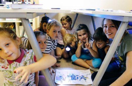 """Языковой лагерь """"Мир наизнанку"""" для детей 5-7 лет"""