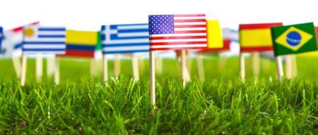 Образование за рубежом. Флаги стран