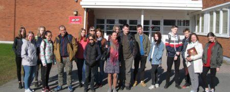 Будущие абитуриенты на ознакомительной поездке в учебные заведения Финляндии