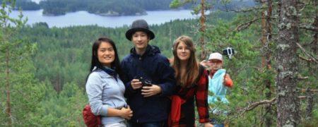 экскурсия в языковом лагере в финляндии подростки
