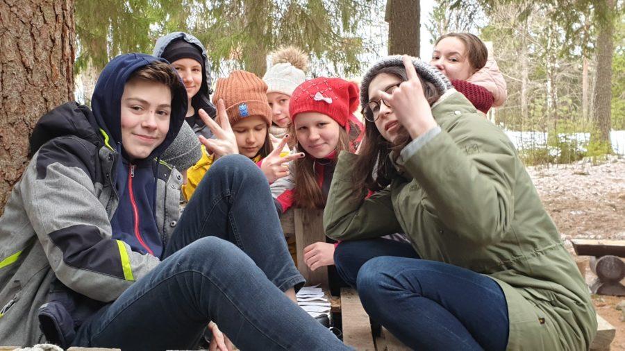 осенний языковой лагерь в миккели