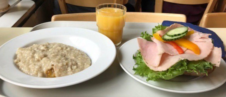 меню студента финского вуза обед