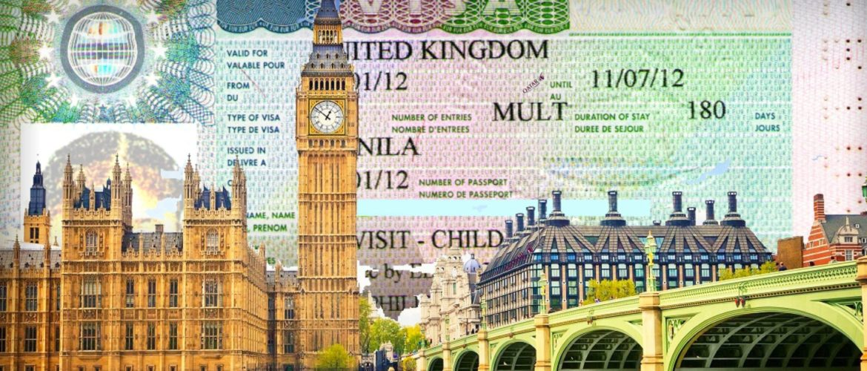 британская виза без загранпаспорта