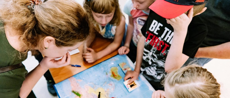 весенний языковой проект для школьников 7-16 лет