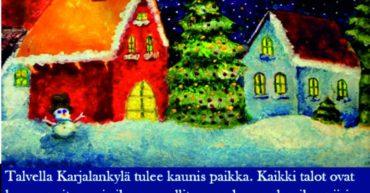 конкурс творческиз работ для школьников В гостии в Карелию